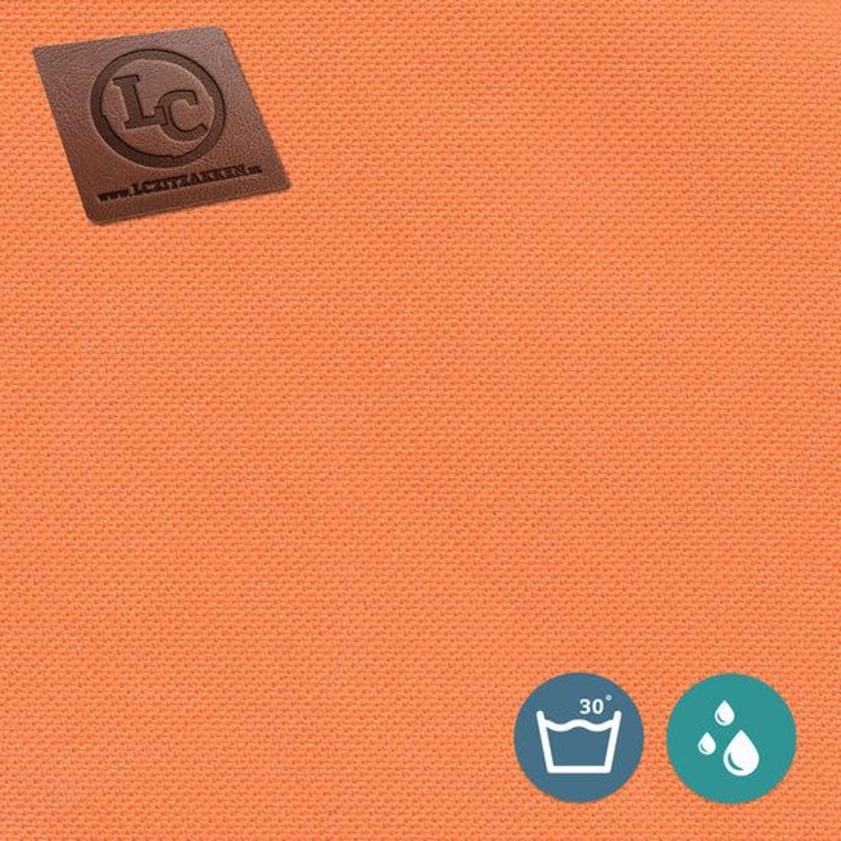 LC Zitzak hoes Barça outdoor oranje - Wasbaar - Geschikt voor buiten kopen