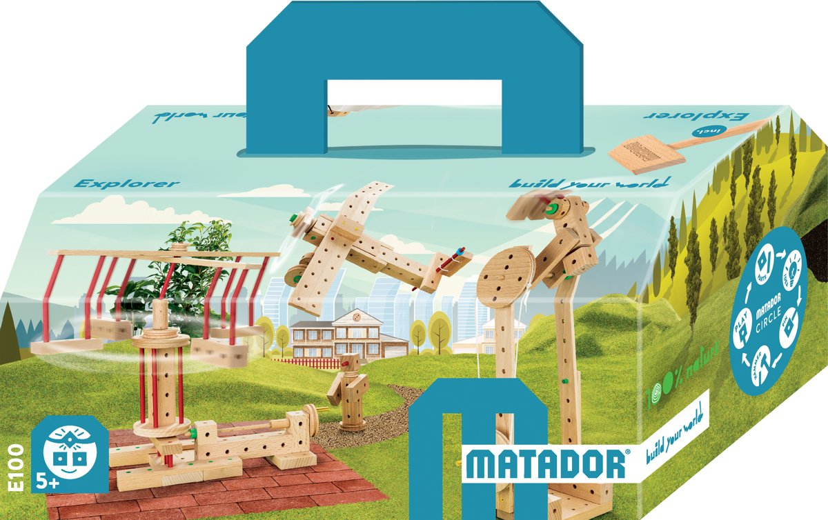 Matador Explorer 5+ 222-delig Klassik1 Bouwdoos