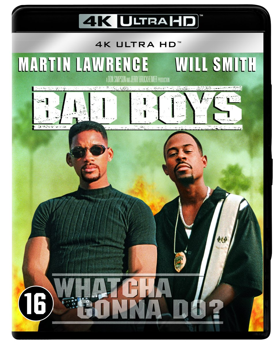 Bad Boys (1995) (4K Ultra HD Blu-ray)-
