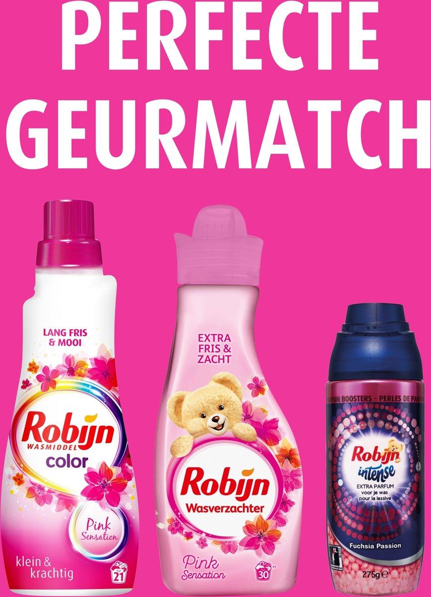 Robijn Klein en Krachting Pink Sensation 8x21 wasbeurten wasmiddel voordeelverpakking