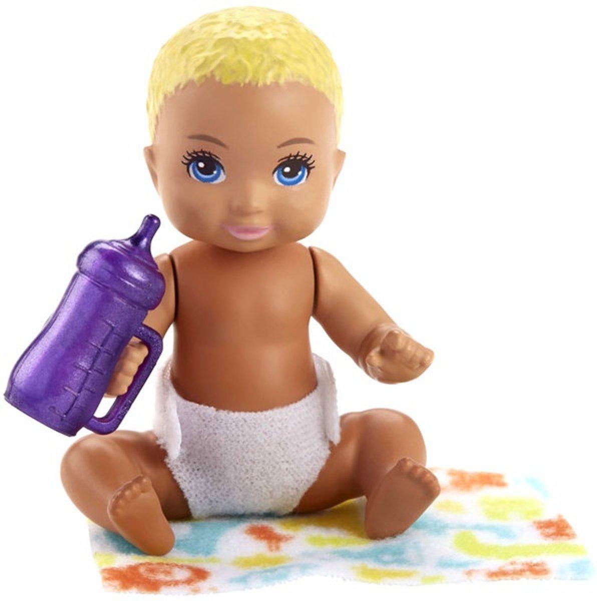 Barbie Babypop Skipper Babysitters Meisjes 6 Cm Blond (fhy80)