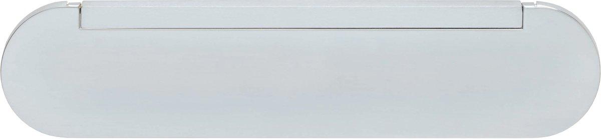 Intersteel - Tochtklep - mat chroom - 0017.401500