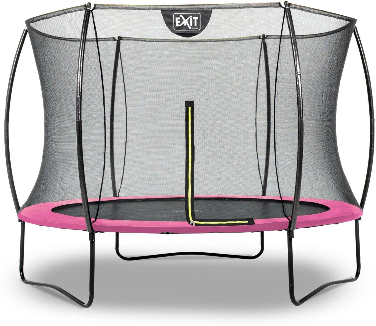 EXIT Silhouette trampoline ø244cm - roze