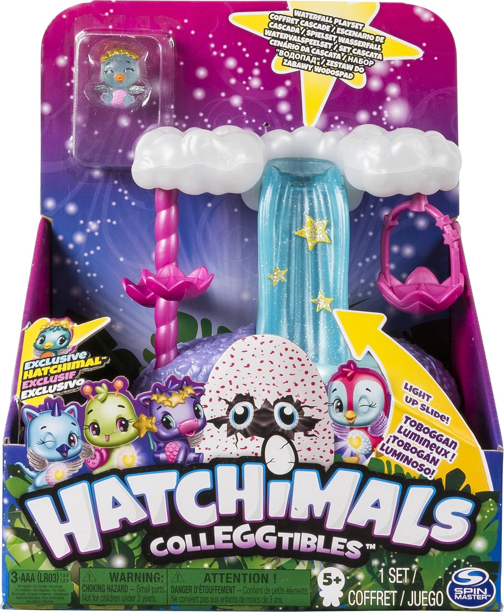 Hatchimals CollEGGtibles Watervalspeelset