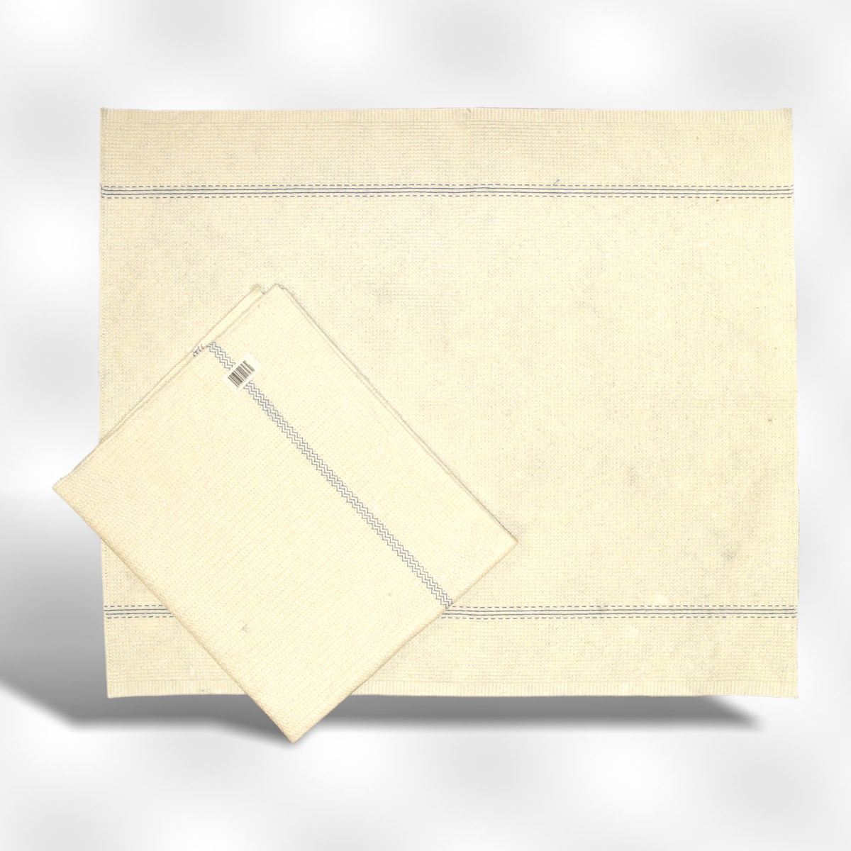 Dweil katoen gestikt - 60 x 70 cm - 3 stuks kopen