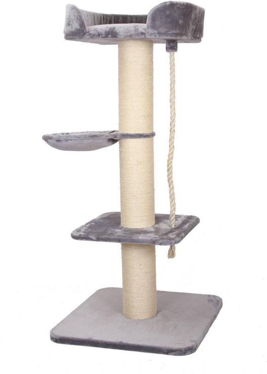 Krabpaal comfort melrose Grijs 80x80x173cm