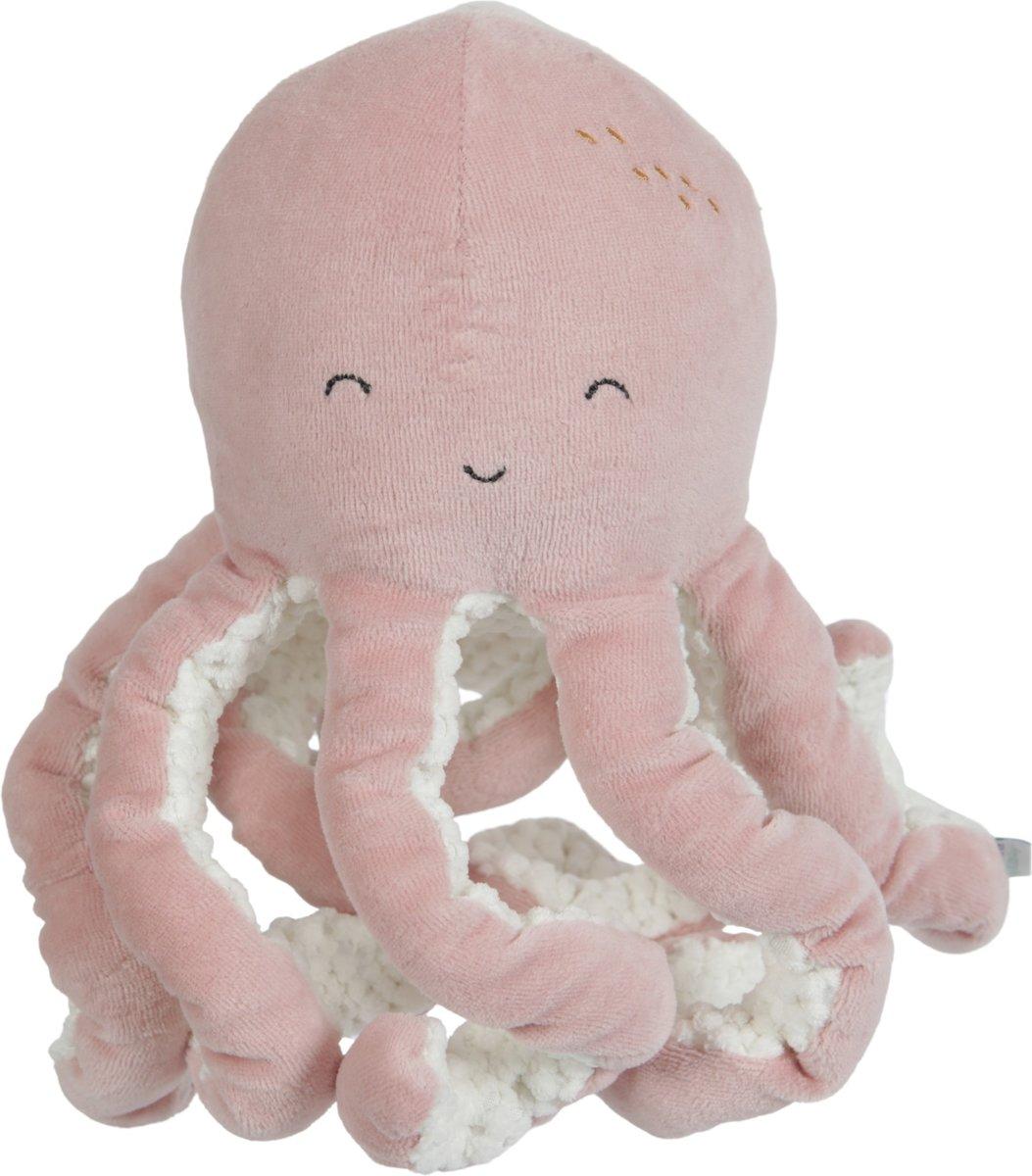 Afbeelding van product Little Dutch Knuffel Octopus Ocean pink