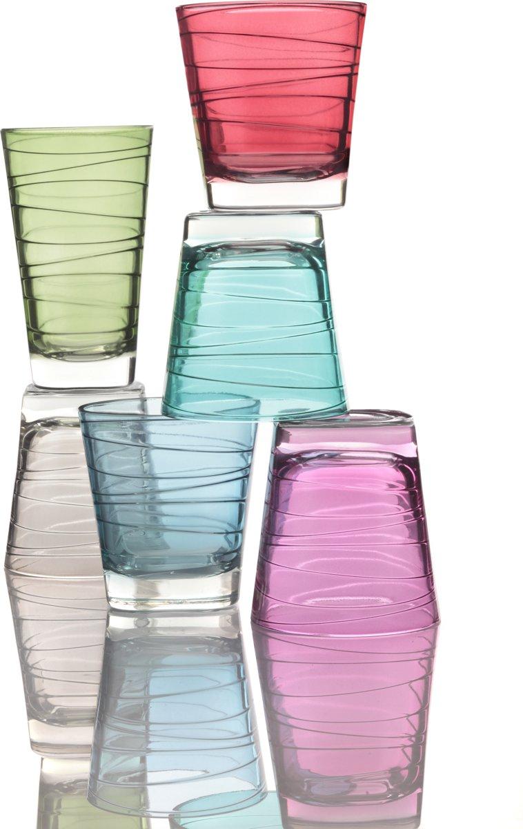 Leonardo Vario - whiskeyglas assorti - 6 stuks kopen
