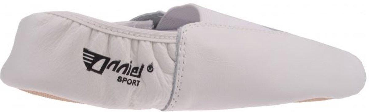 Anniel Tourner 24 Chaussures En Cuir Blanc Taille 37 G RsVbm