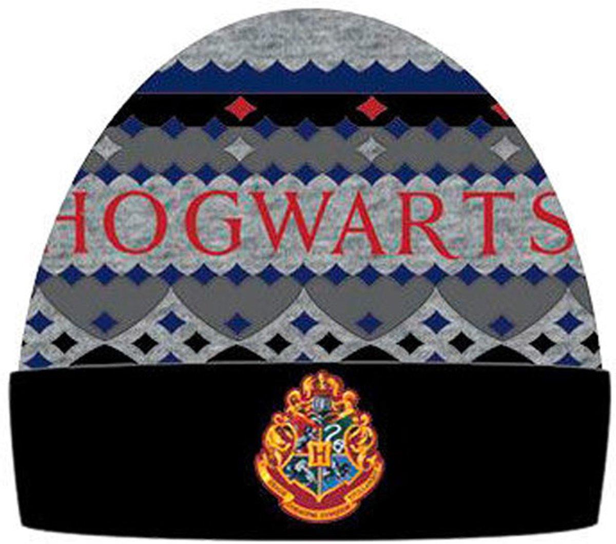Harry Potter Hogwarts muts rood/grijs kopen