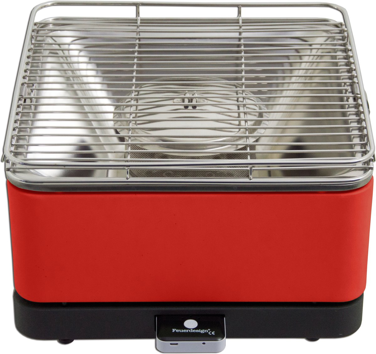 Feuerdesign Teide Tafelbarbecue - Rood kopen