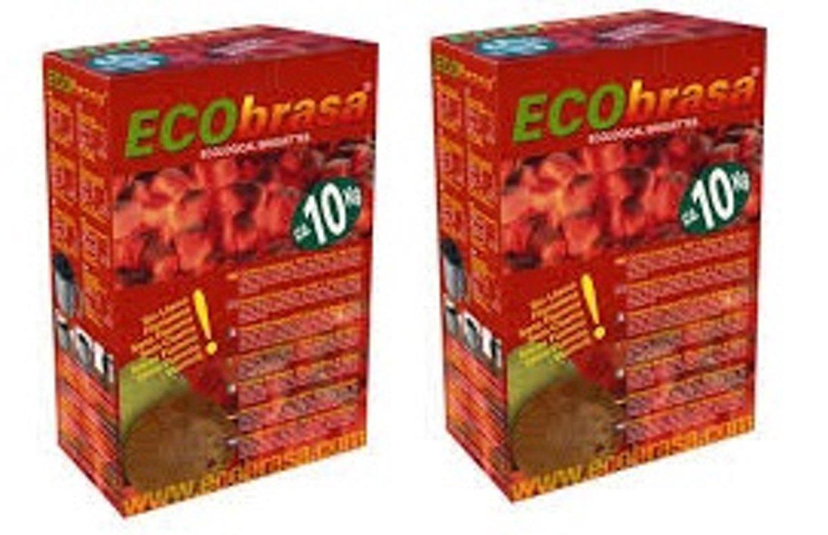 Ecobrasa Kokosbriketten 2-Pack (20Kg) kopen
