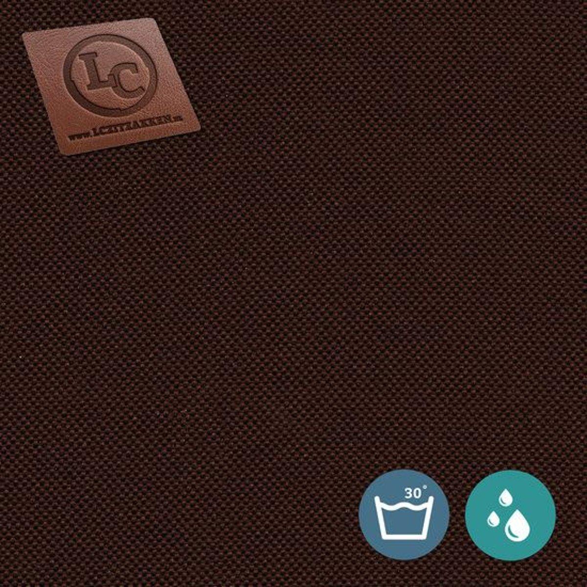 LC Zitzak hoes Ibiza L outdoor chocoladebruin - Wasbaar - Geschikt voor buiten kopen