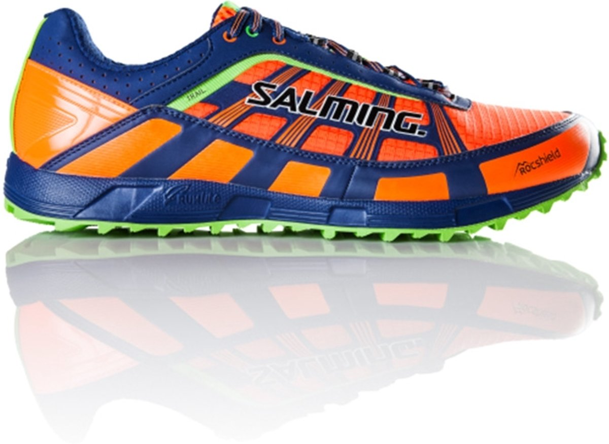 Salming Chaussures De Piste D'orange aBKbN8