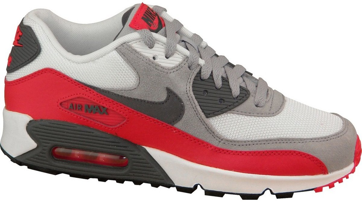 | Nike Air Max 90 Gs 705499 003, Vrouwen, Wit