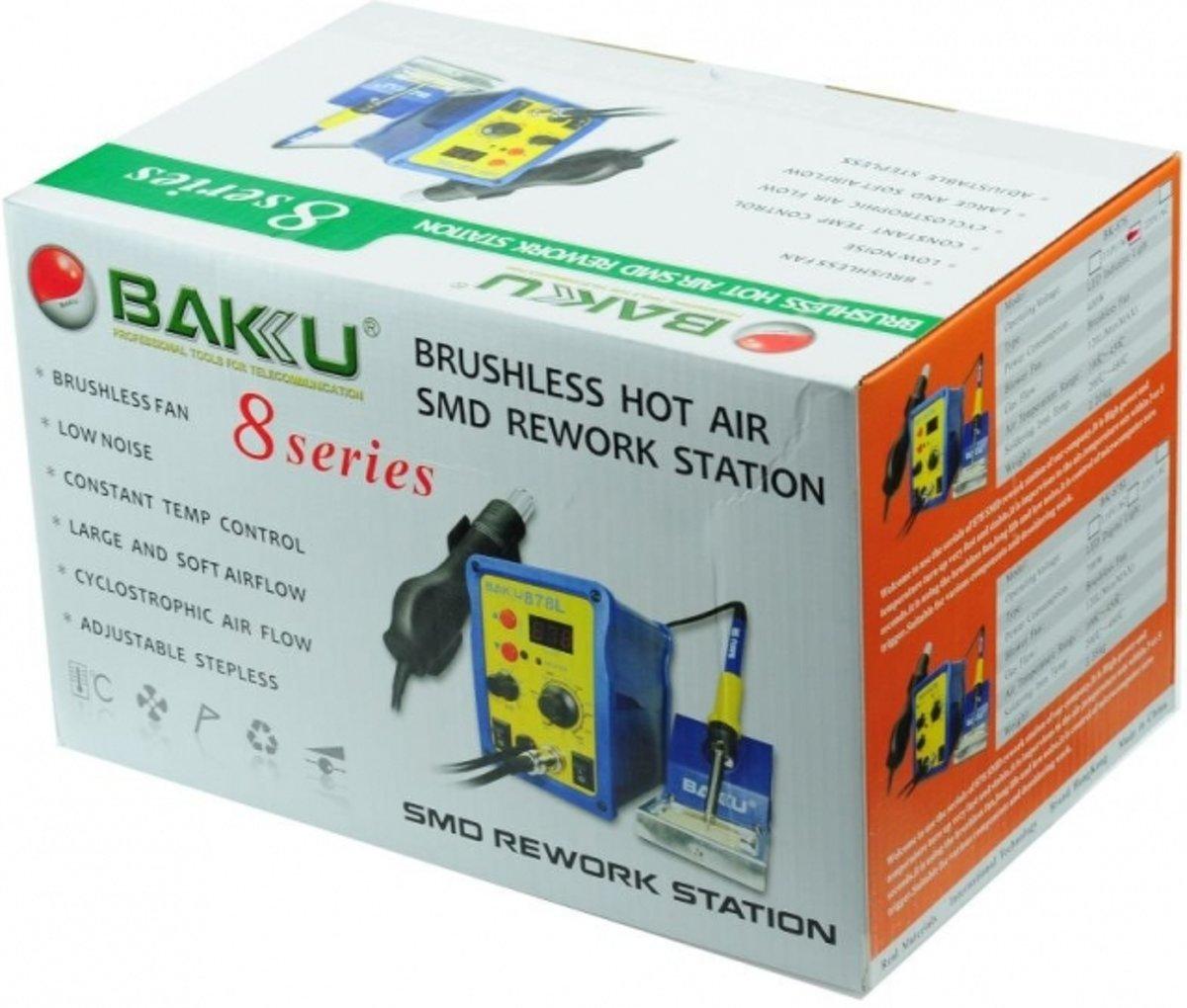 400W Hete Lucht SMD Rework Soldeer Station - Baku 878 L kopen