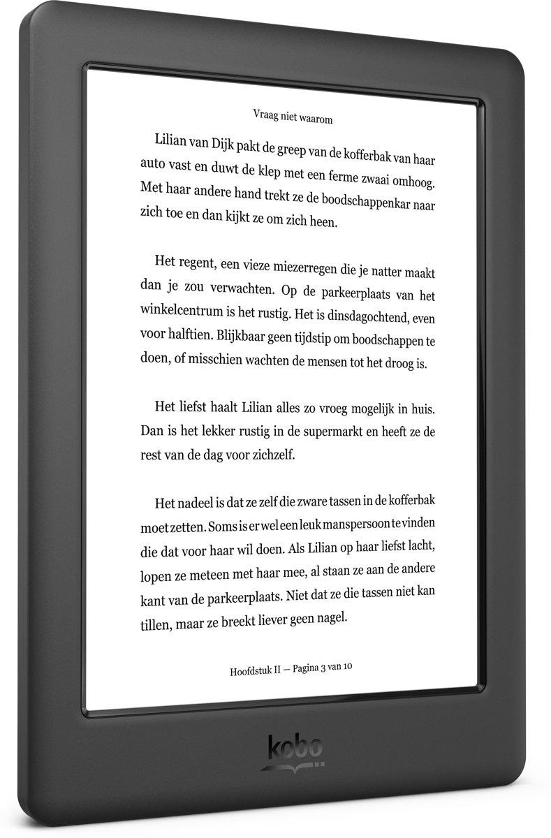 bol.com | Kobo Glo HD - Zwart - e-reader