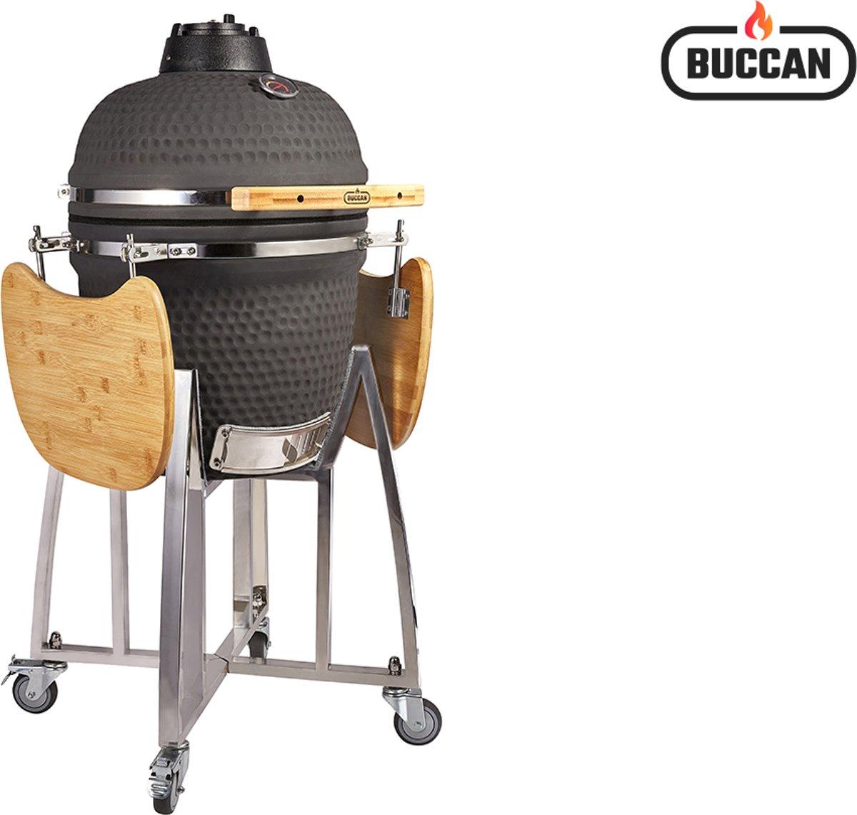 Buccan BBQ - Sunbury Smokey Egg - Large - Zwart kopen