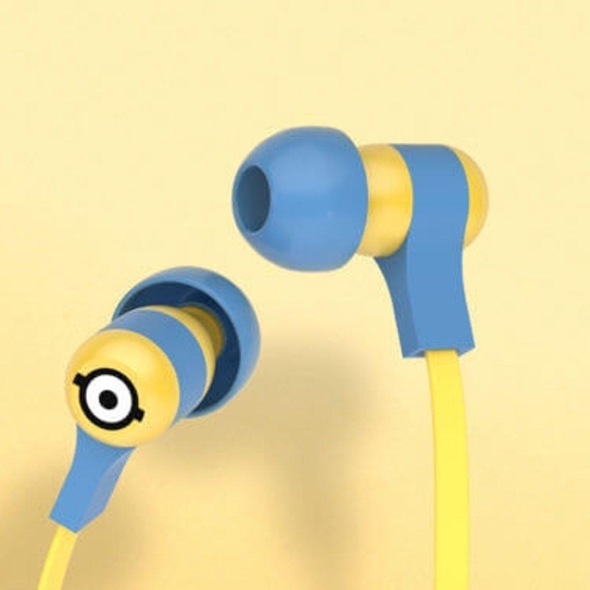 Tribe EPW12100 In-ear Stereofonisch Bedraad Blauw, Geel mobiele hoofdtelefoon kopen