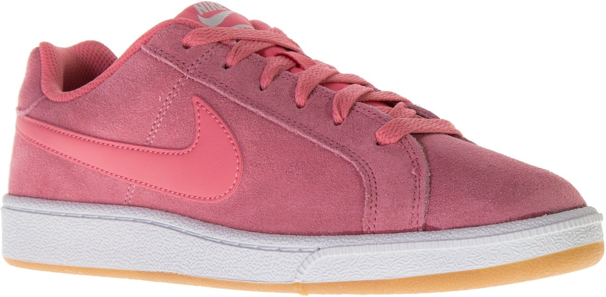 a977795b017 bol.com | Nike Court Royal Suede Sneakers - Maat 39 - Vrouwen - roze/wit