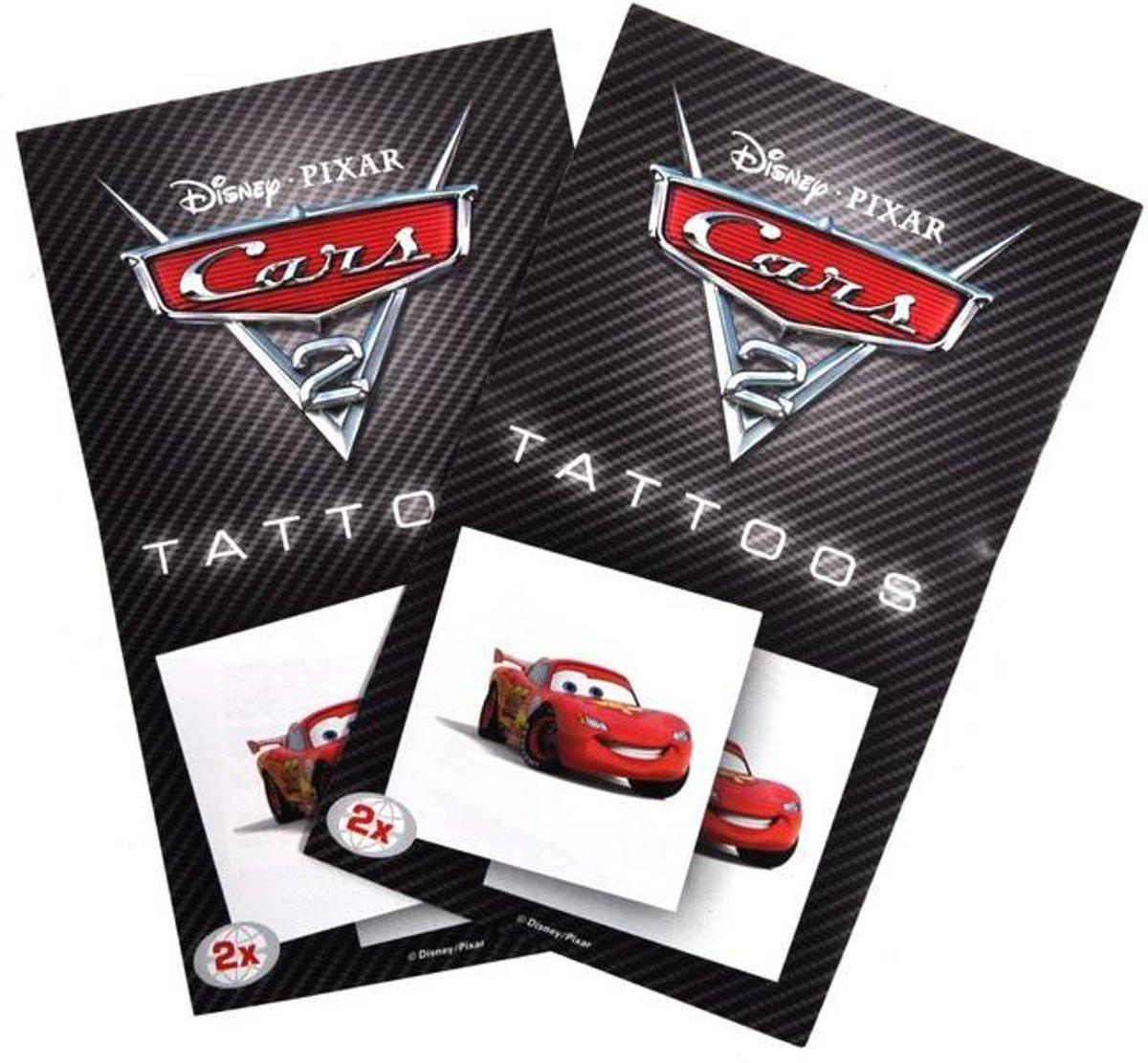 Disney Cars tattoo stickers (8 Stuks)