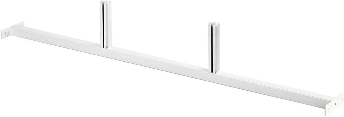 Afbeelding van product Middenstuk, b: 1173 mm, h: 180 mm, wit, tussenstuk voor 3 achterplaten, 1stuk, diepte 110 cm