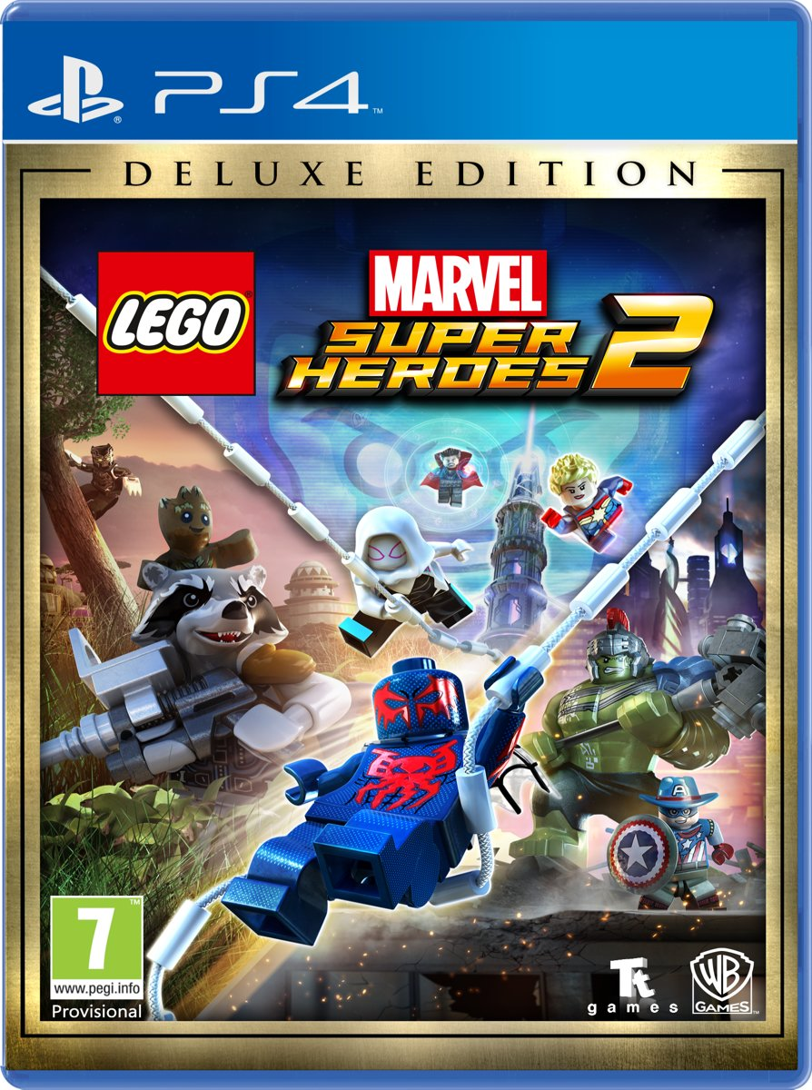 LEGO Marvel Super Heroes 2 - Deluxe Edition PlayStation 4