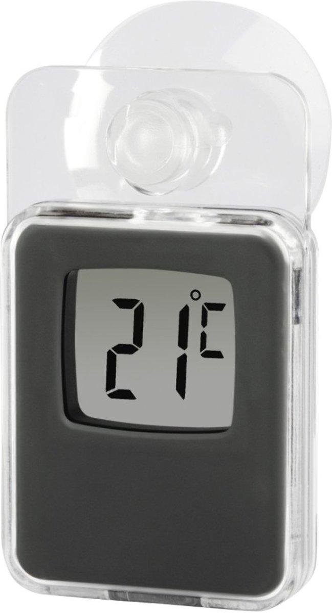 Hama Raamthermometer Voor Binnen En Buiten Digitaal 7,5 X 4,6 Cm Grijs kopen