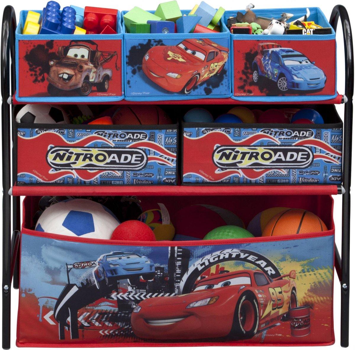 Multi Opbergkast Cars.Opbergkast Met Manden Metaal Cars