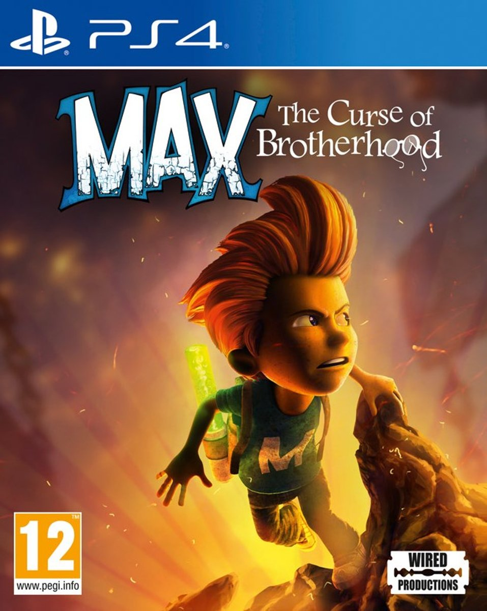 Max: The Curse of Brotherhood PlayStation 4