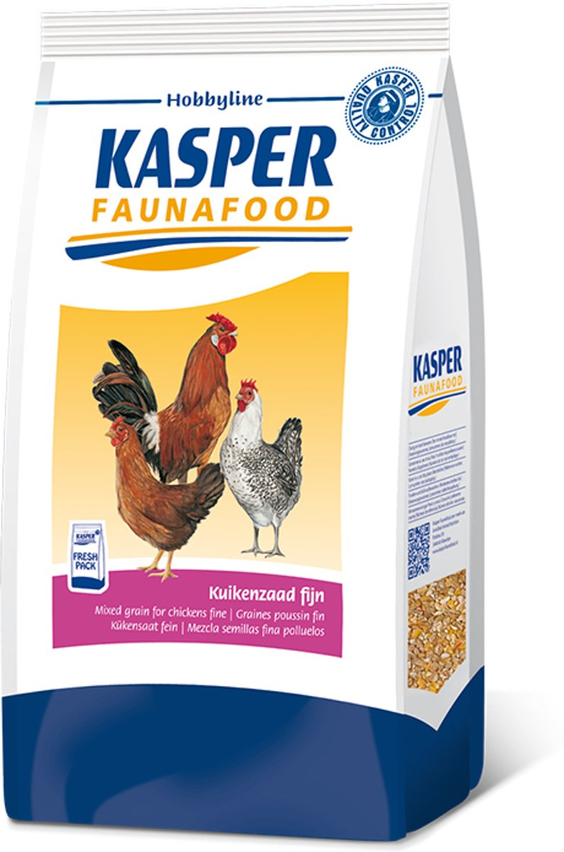 Kasper Faunafood Hobbyline Kuikenzaad Fijn - Kippenvoer - 4 kg