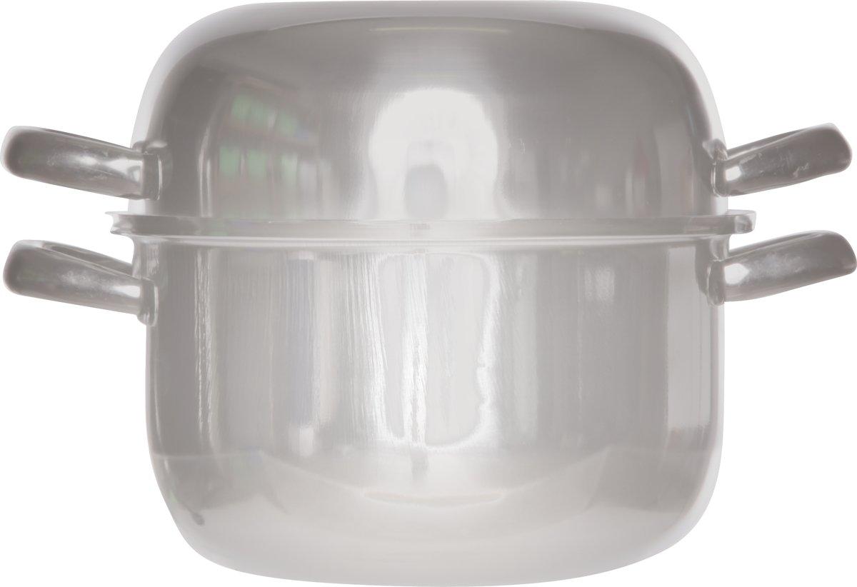 Cosy&Trendy Mosselpan - � 18 cm - Inox -Inductie