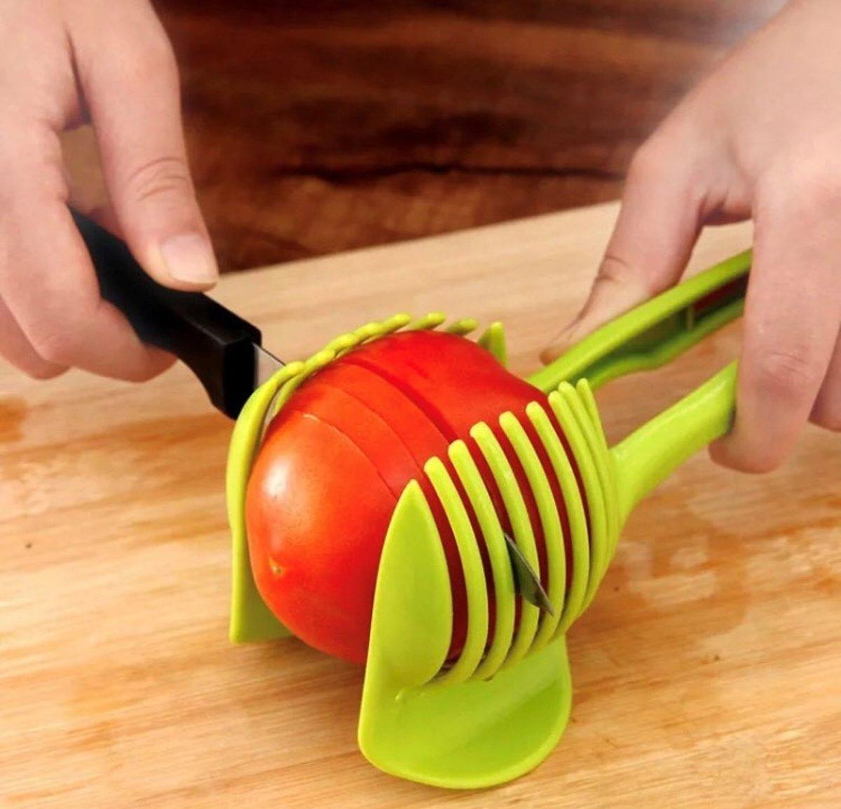 Tomatensnijder - Groetensnijder - Eiersnijder - Keukengerei - fruitsnijder kopen