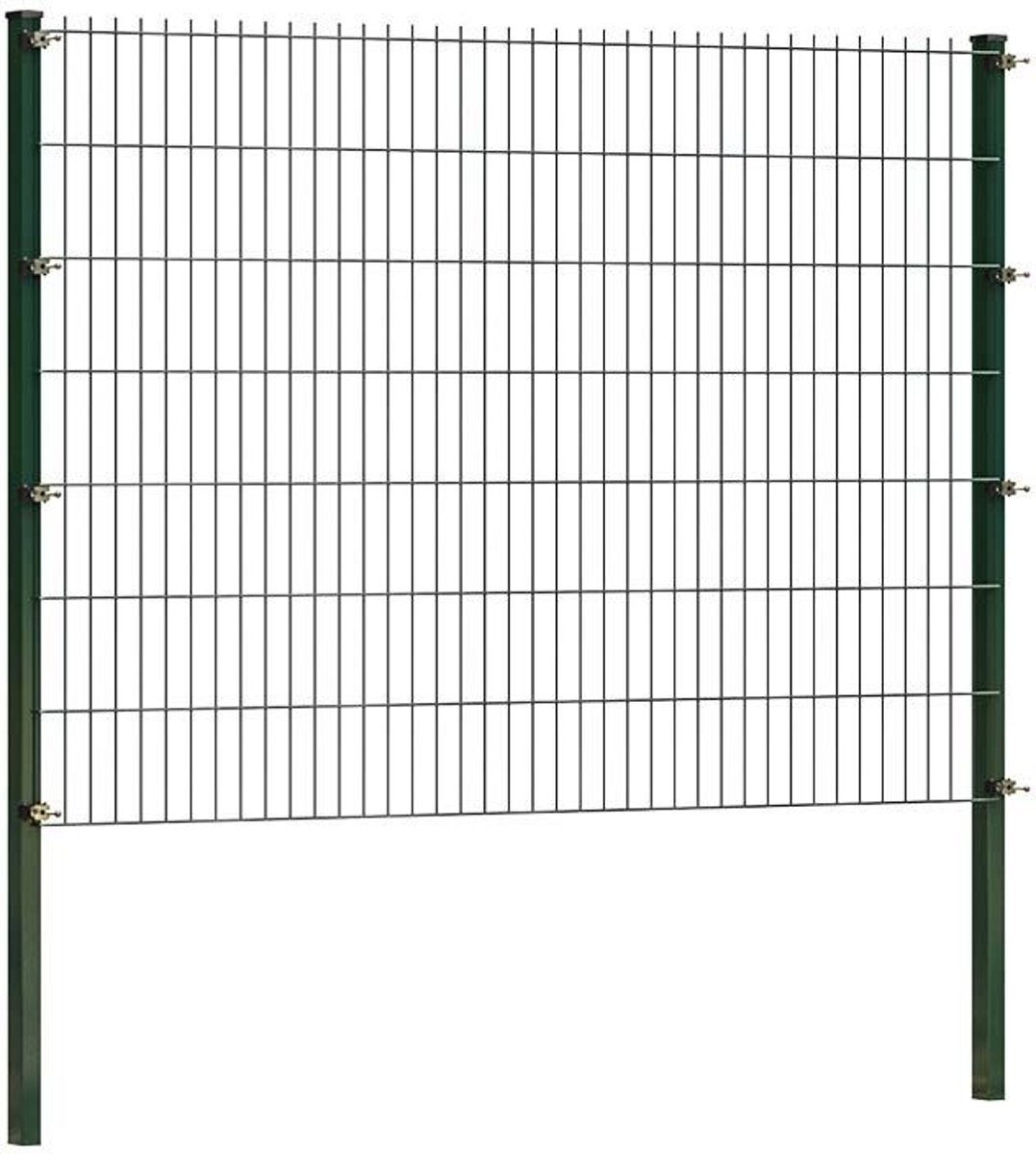 Dubbelstaafmatten 200 x 143 cm   Groen   20 meter