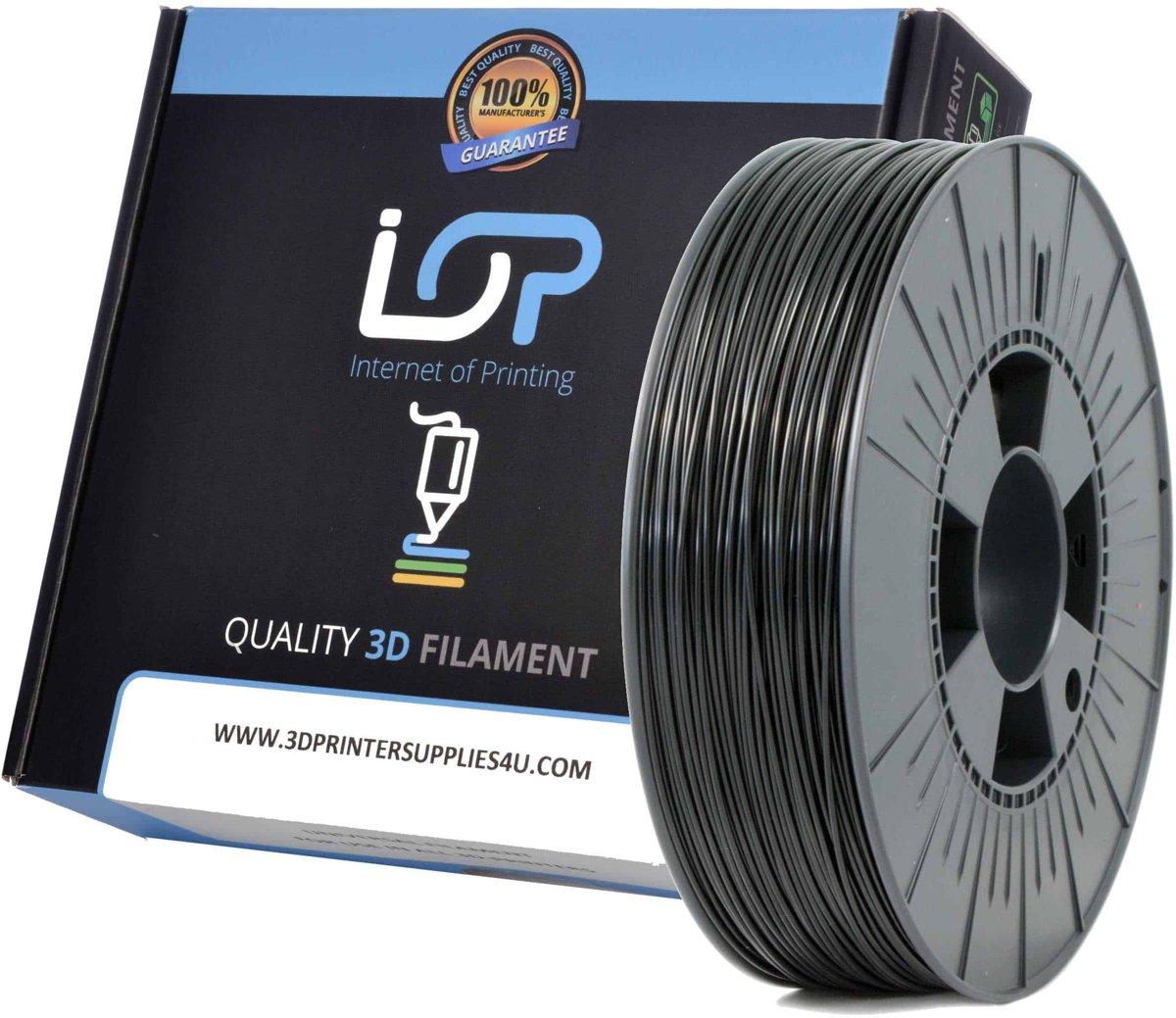 IOP PLA 1,75mm Black 500gr