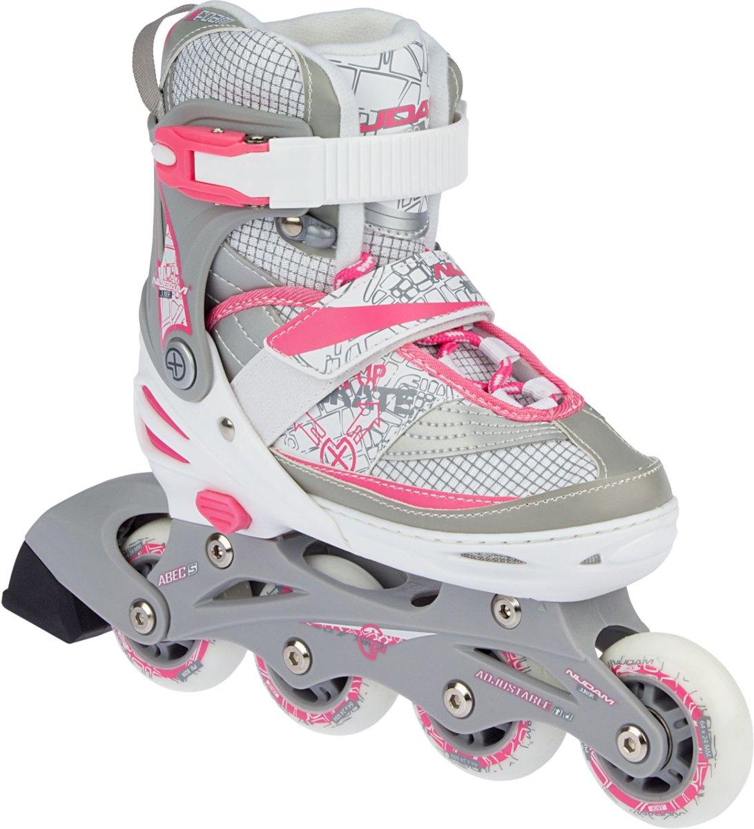 7cbc5af4a72 bol.com | Nijdam Junior Skate/Schaats Combo - Semi-Softboot - Wit - Maat  27-30