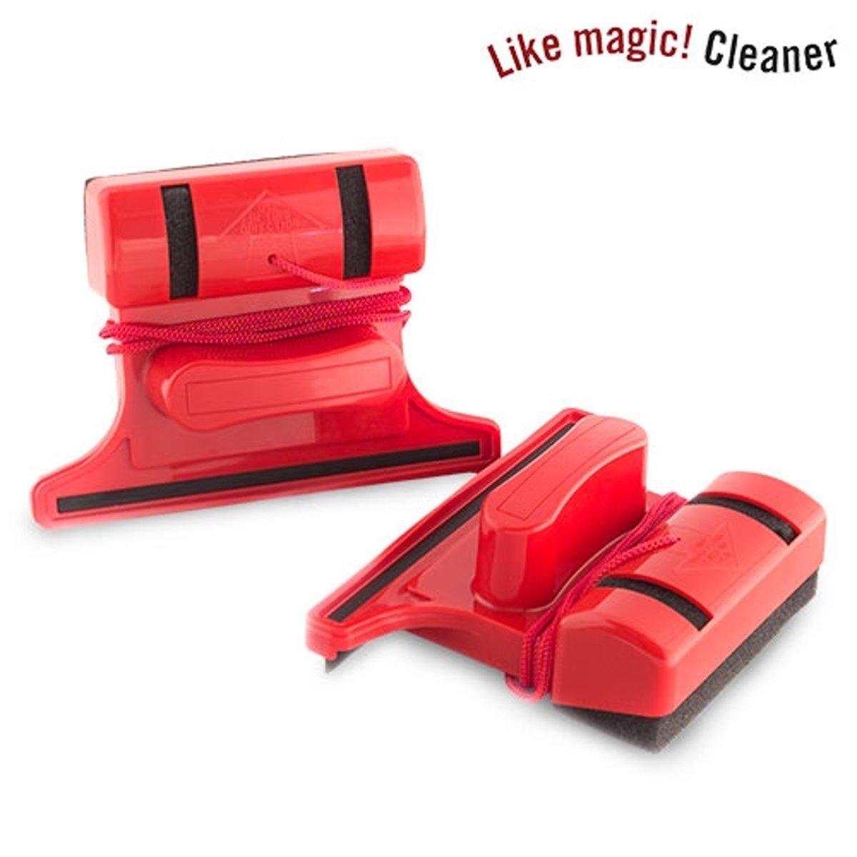 Magnetische Raamwisser Dubbel Glas.Like Magic Cleaner Magnetische Ramenzemer Alleen Voor Enkele Beglazing