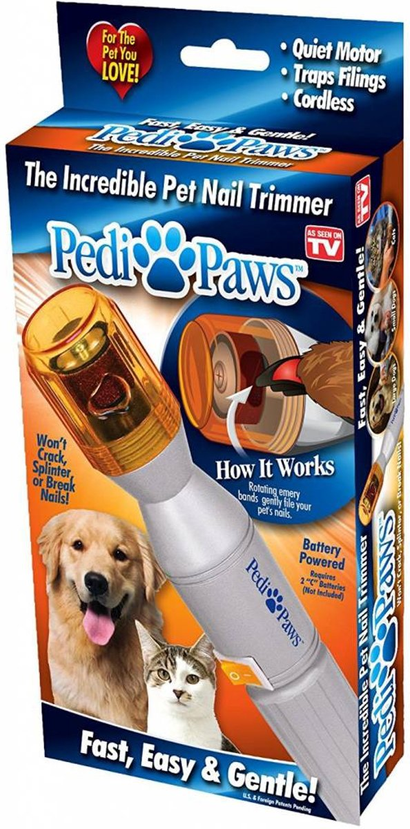 Pedi Paws Elektrische Huisdieren Nagel Trimmer kopen