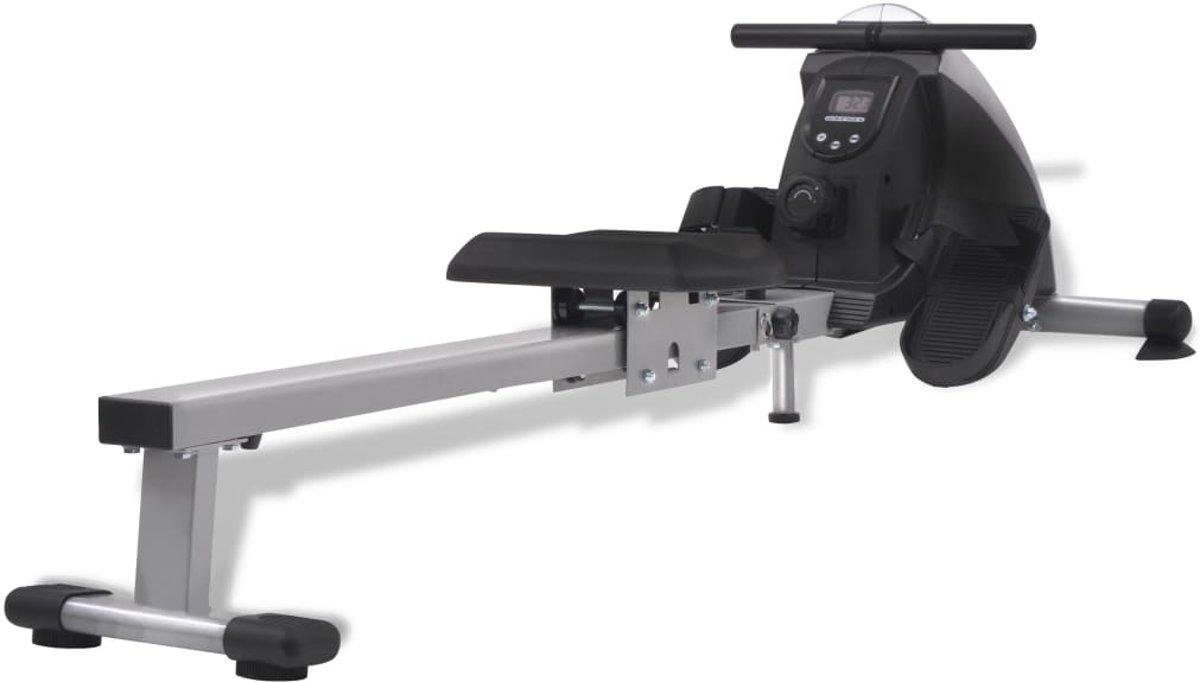 vidaXL Roeiapparaat 4.5 kg vliegwiel magnetische weerstand 8 niveaus kopen