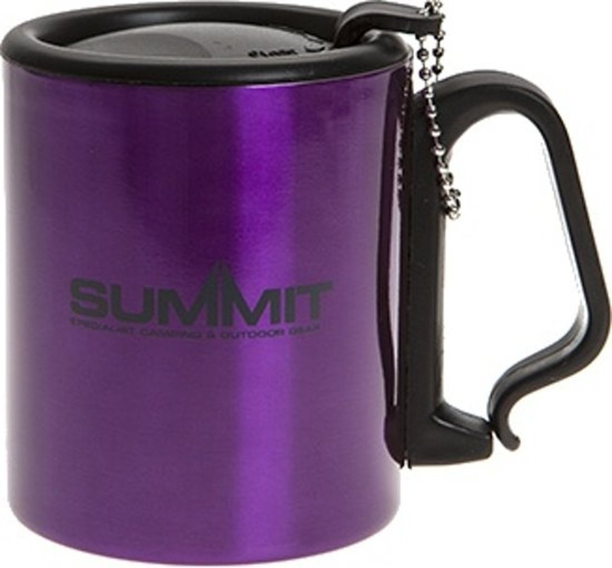 Summit Drinkbeker Met Deksel Aluminium Paars 300 Ml kopen