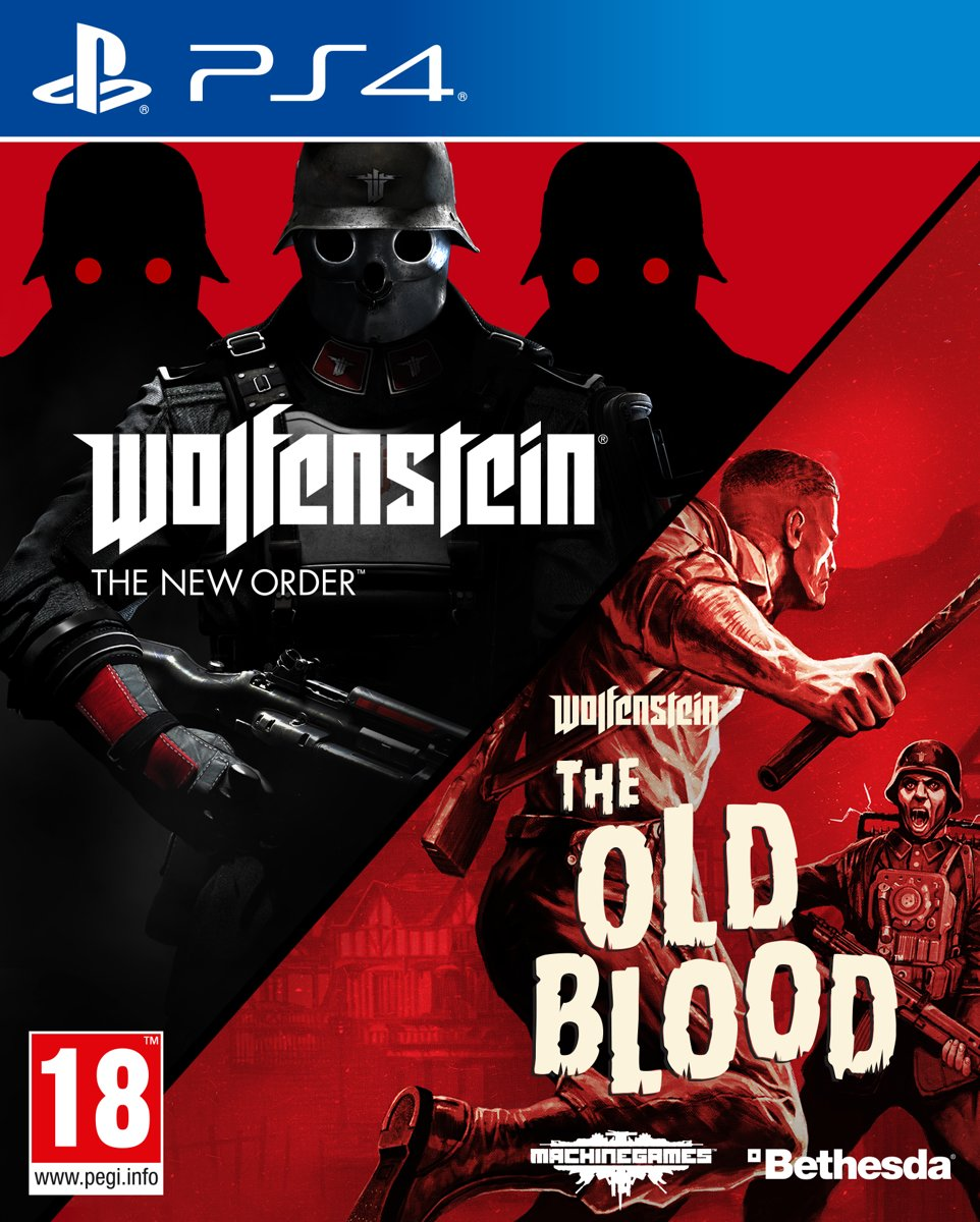 Wolfenstein: The New Order & The Old Blood Double Pack PlayStation 4
