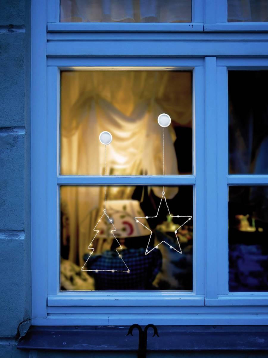 Raamdecoratie Kerstboom Warm-wit LED Polarlite LBA-50-015 kopen