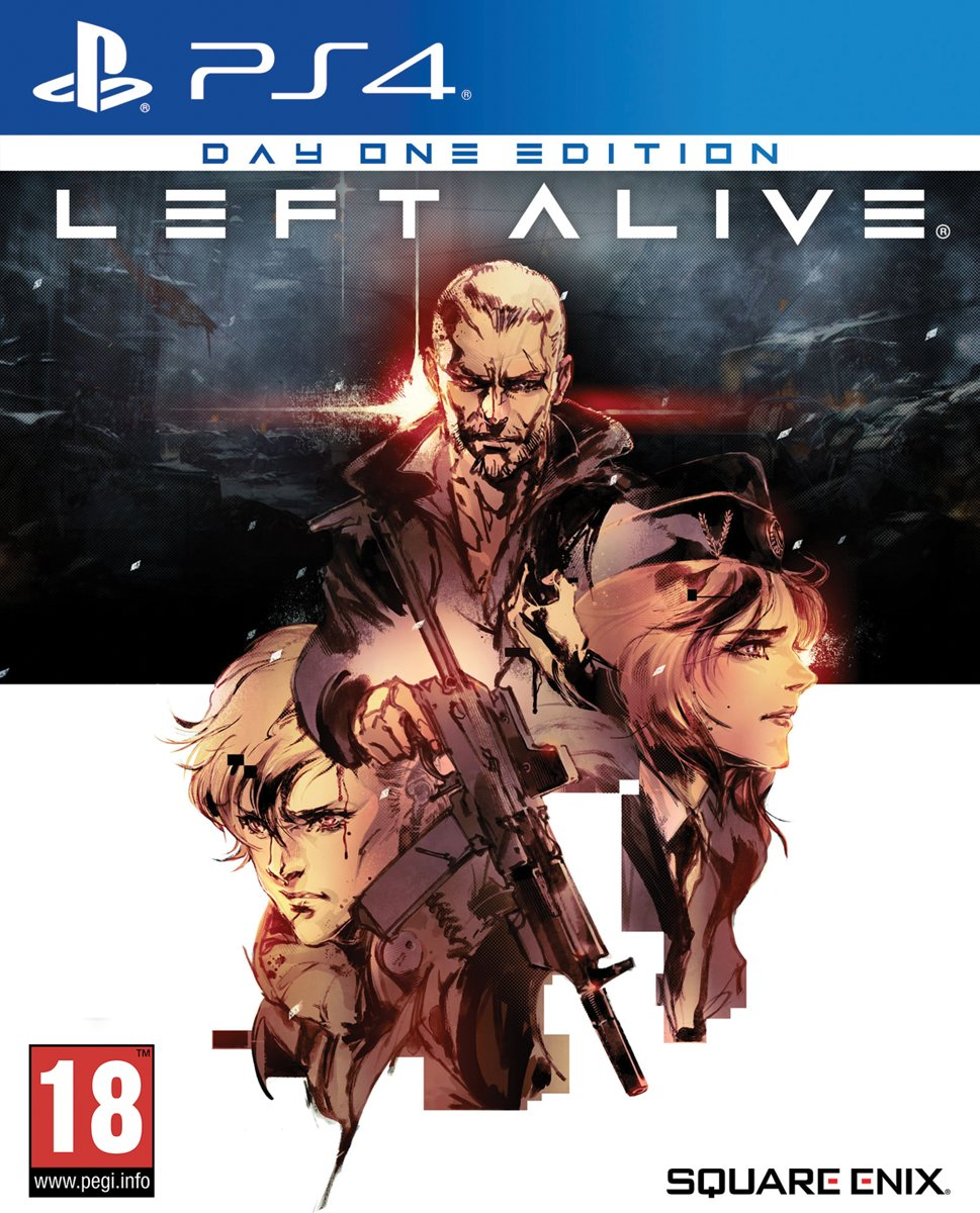 Left Alive Day One Edition PlayStation 4