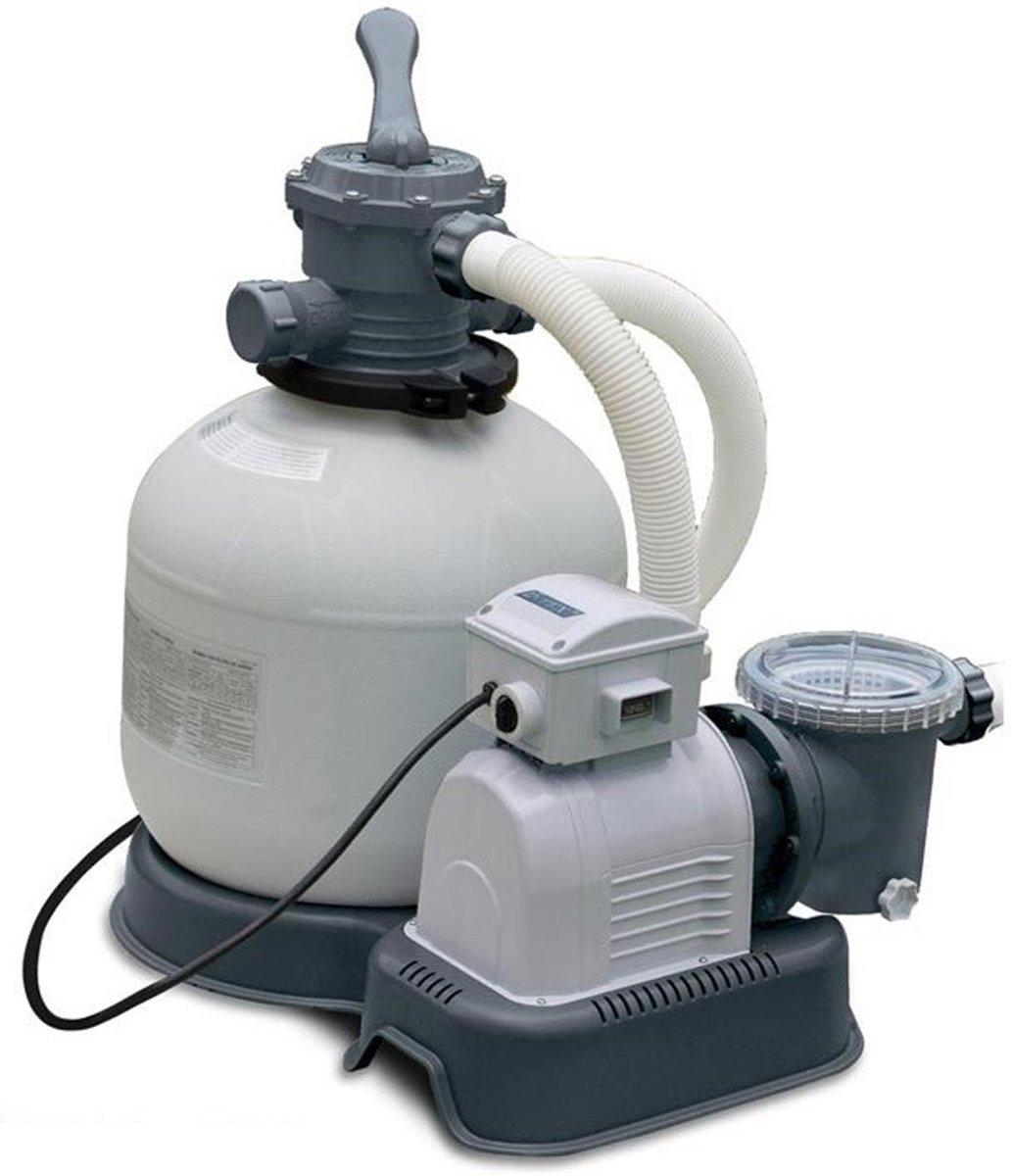 Intex zandfilterpomp 10 m3/uur voor grote Intex baden