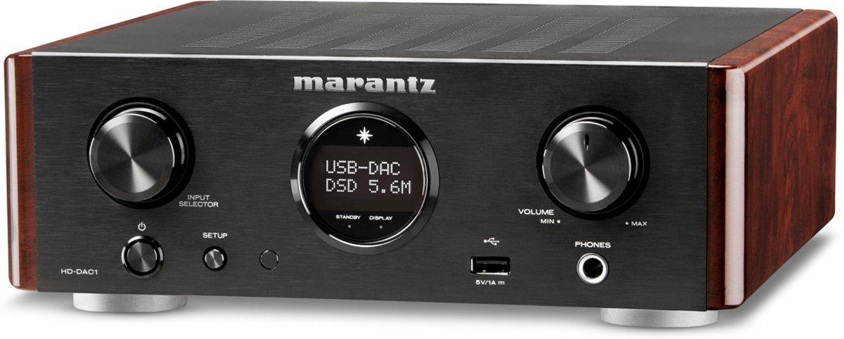 Marantz HD-DAC1 - Hoofdtelefoon versterker - Zwart kopen