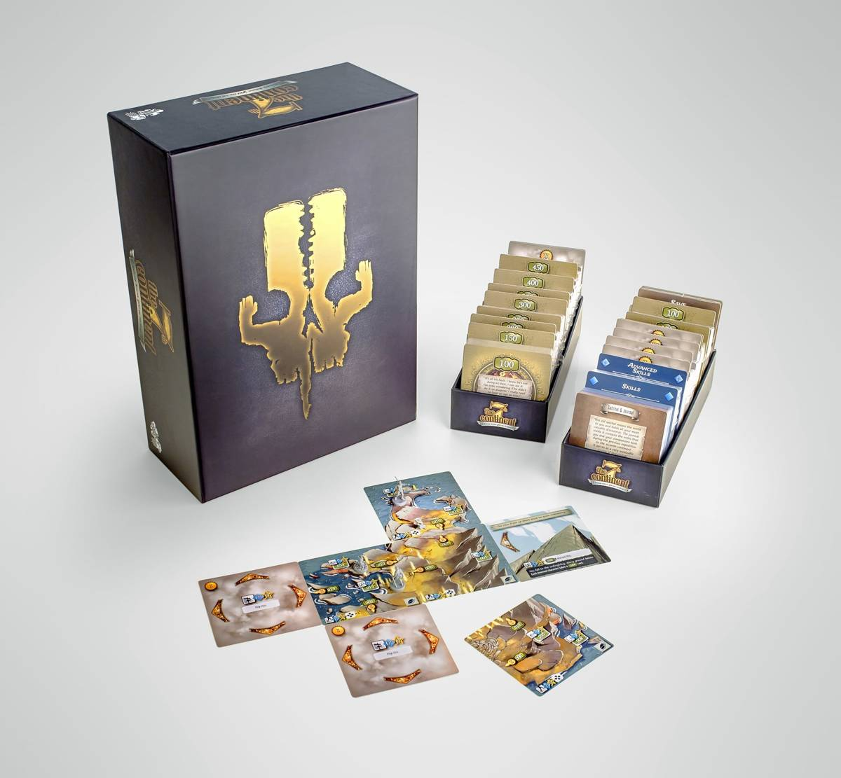 7th Continent Core Box (Engelstalig)