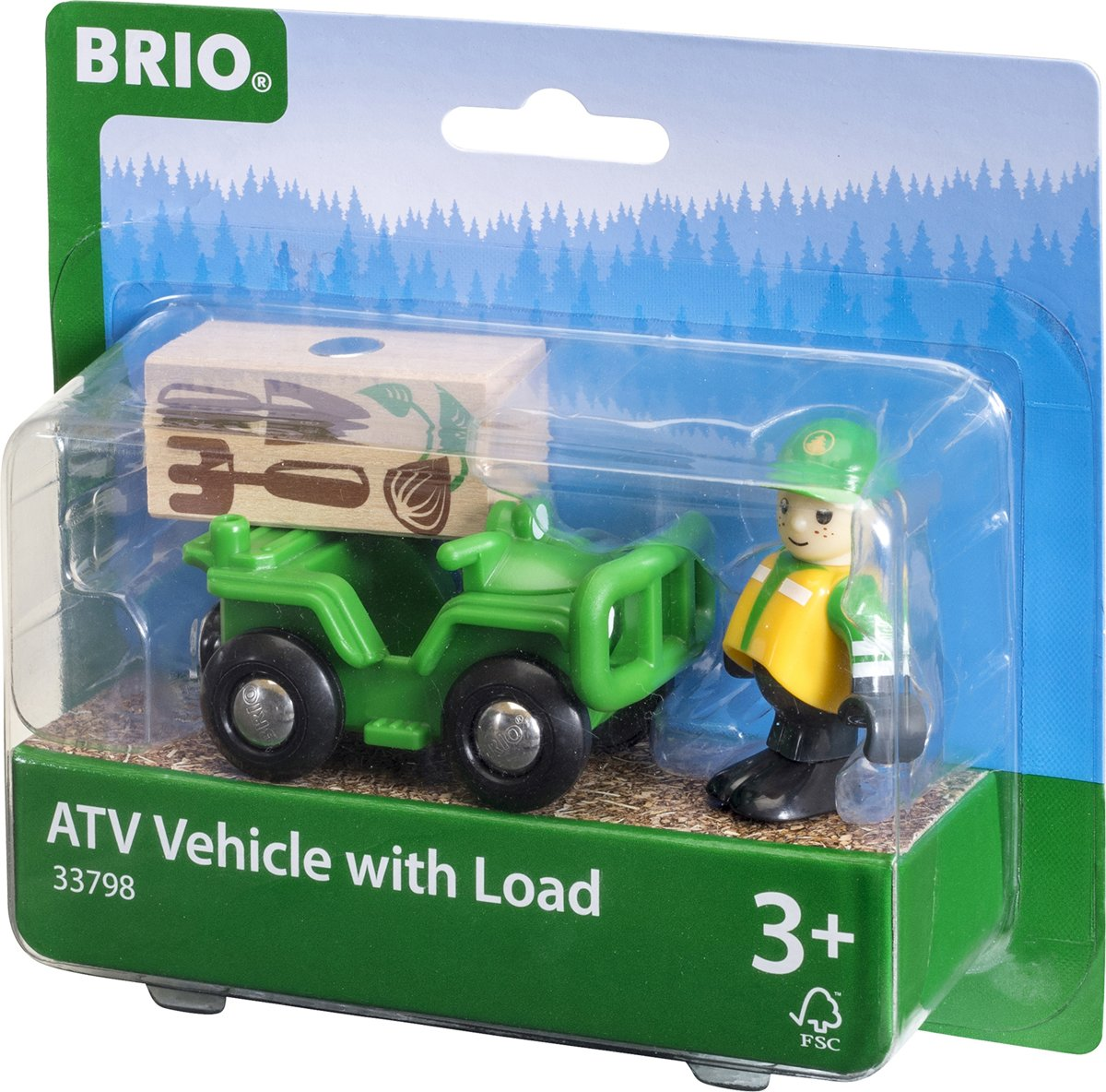 BRIO Bosbouw set - 33798