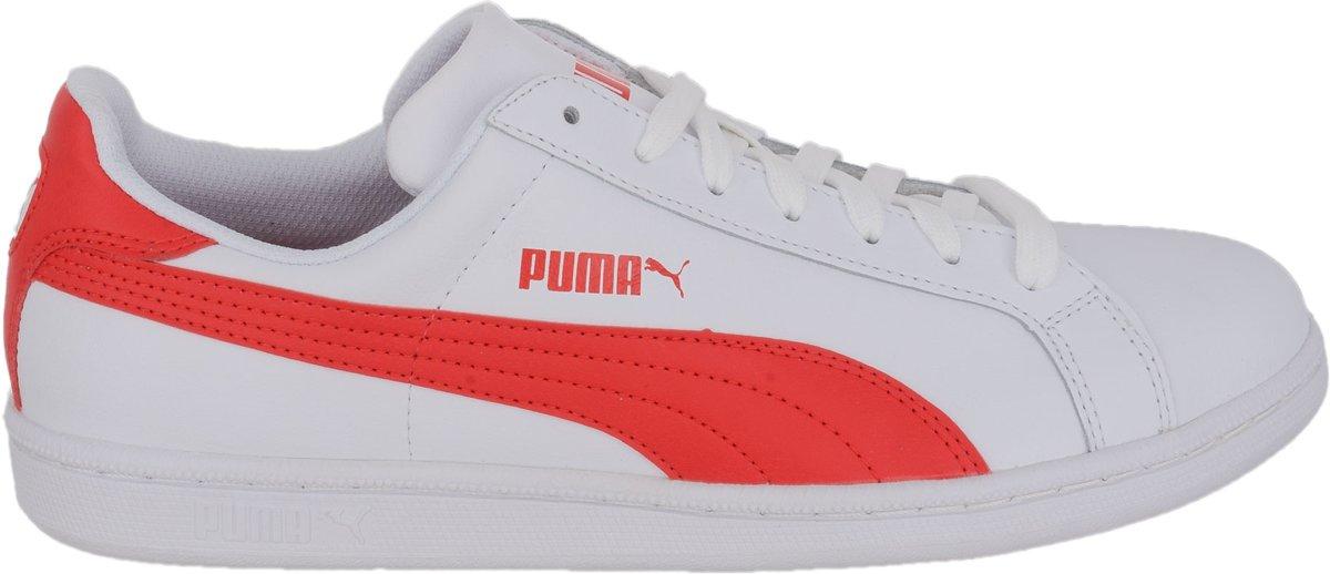 Chaussures Puma Smash blanches Fashion unisexe ojFzY
