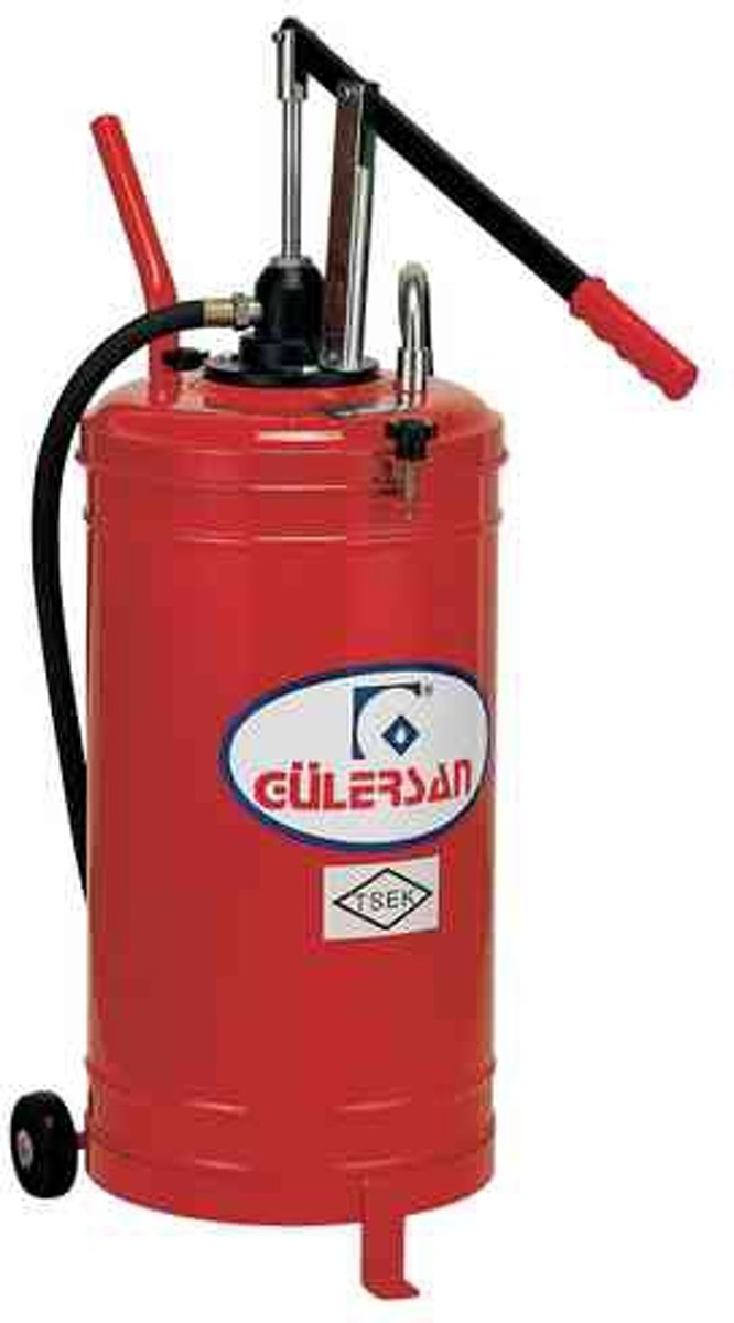 Gülersan Model 2025, handbediende vetpomp, 20 liter kopen