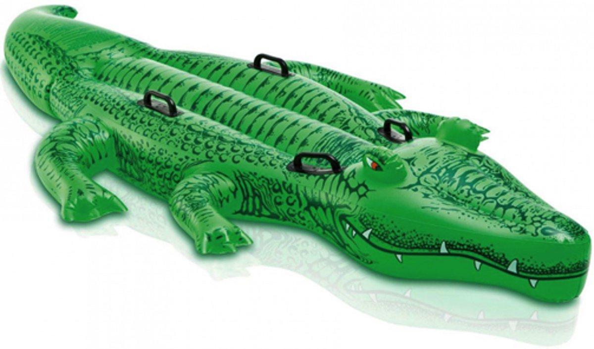 Intex opblaasbare krokodil - 203x114 centimeter
